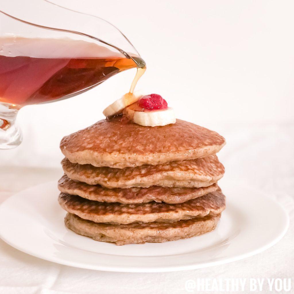 Oat Flour Gluten Free Pancakes