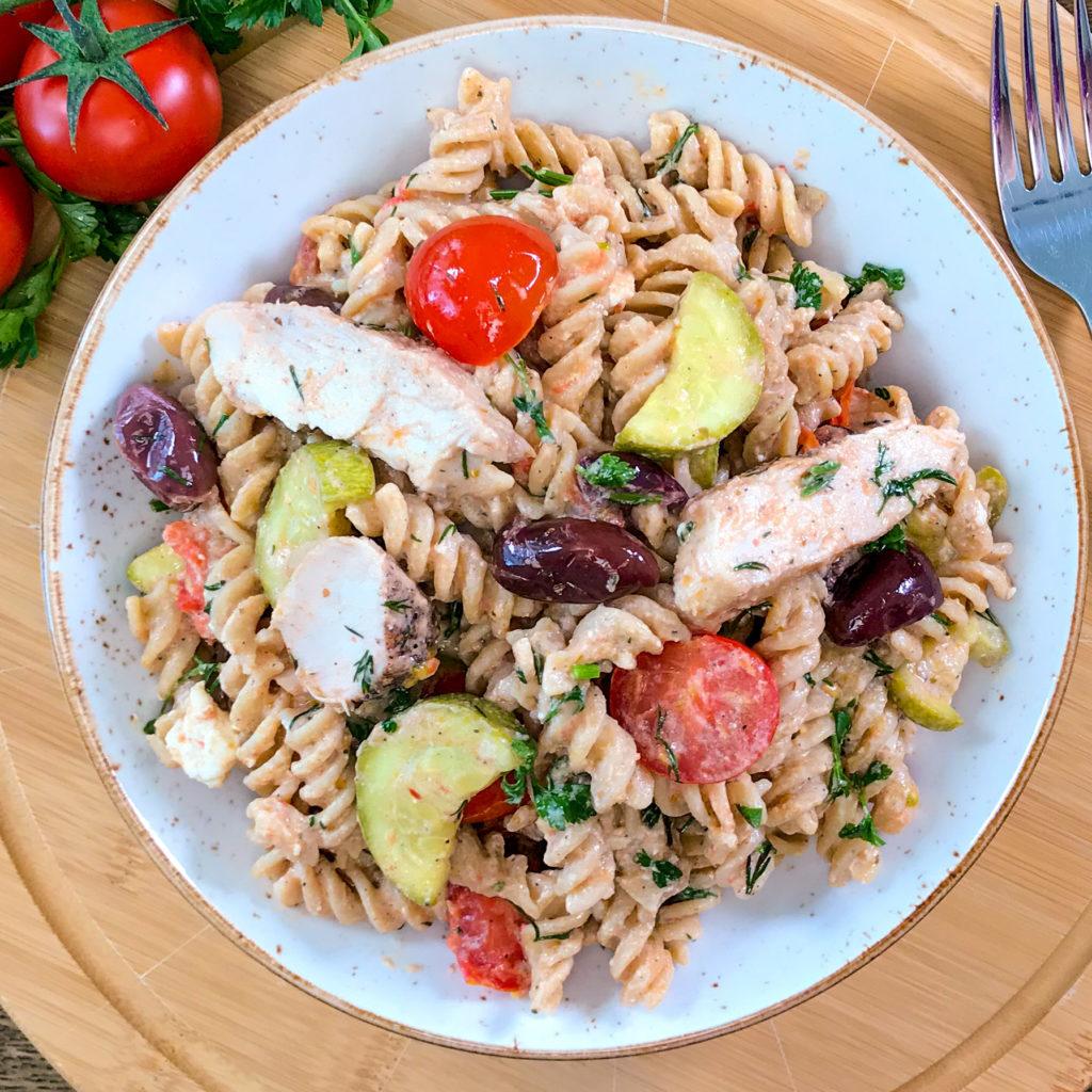 Greek Inspired Pasta