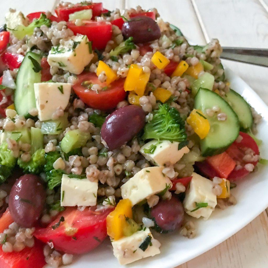 Greek Grain Summer Salad
