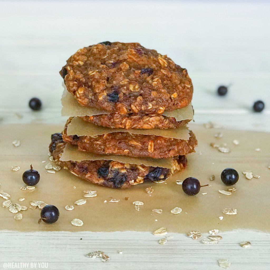 Black Current Oat Cookies