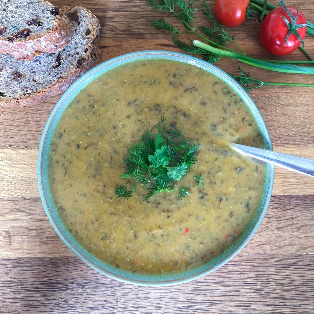French Lentil Cream Soup
